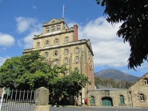 Hobart's Cascade Brewery, just up the road from my Warmshowers Hosts