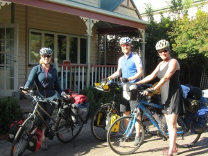 I had the GREAT pleasure of meeting Georgina and Greg from Scotland and England respectively, we cycled together for 5 days, is was special!