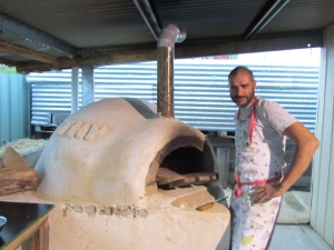 Antoine, pizza chef supreme