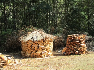 Lovely woodpiles!