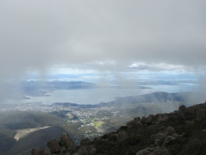 On top of Mount Wellington