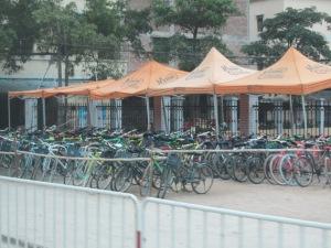 bikes in Guangzhou